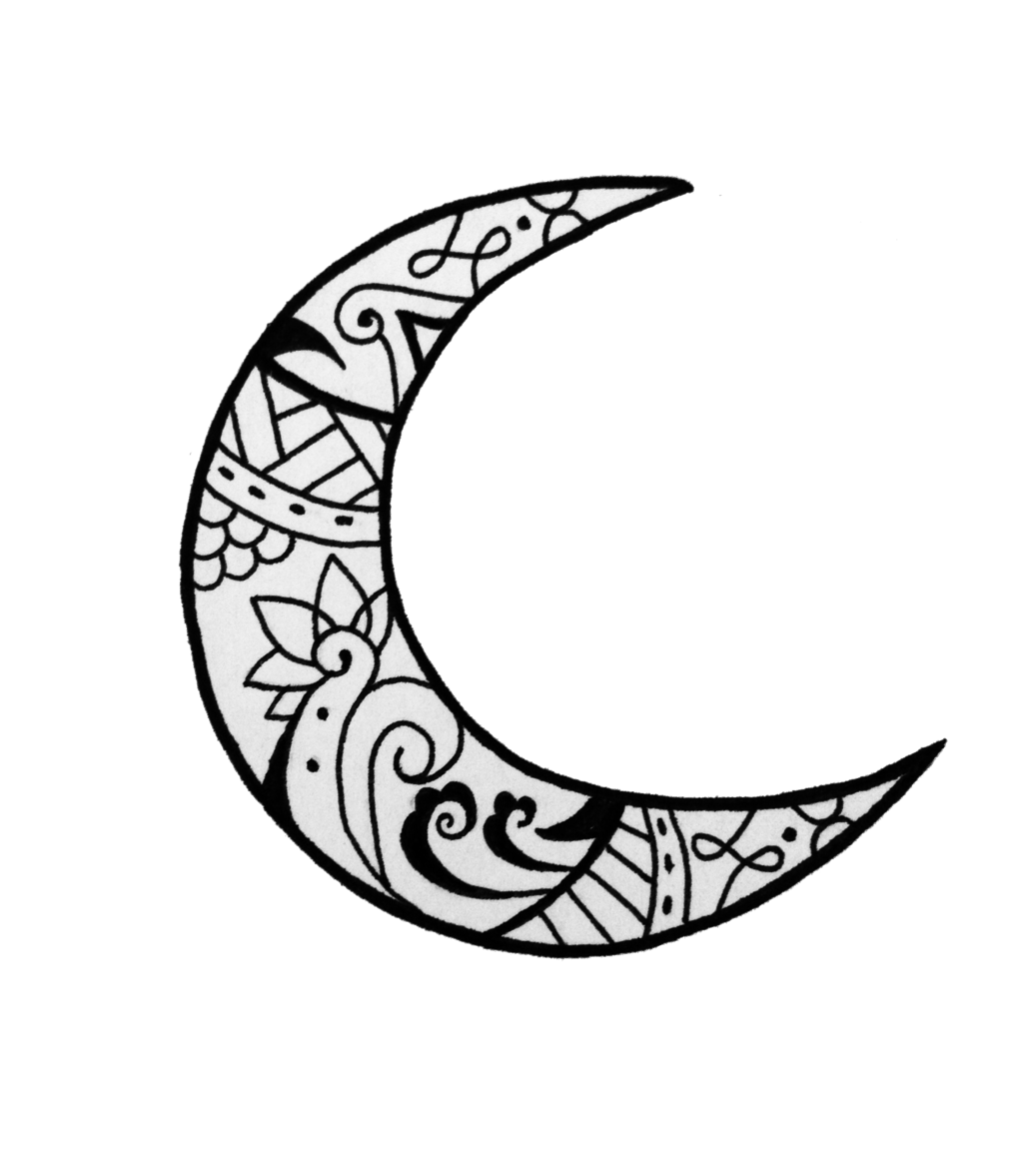Image Result For Crescent Moon Designs Moon Tattoo Moon Design Tattoos