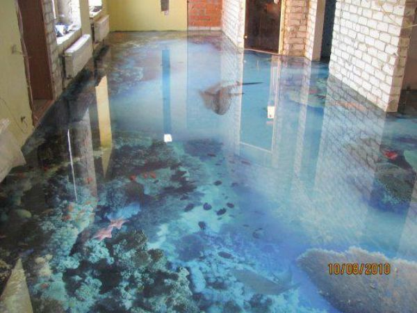 Water 14 Amazing Floors That Look Like