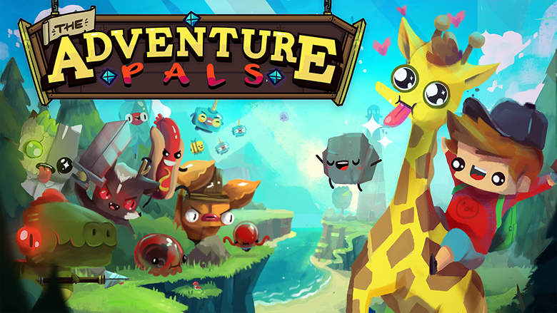 The Adventure Pals; Helicopter Tongue Giraffes