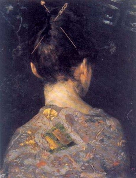 Woman With Pins Pedro Lira Rencoretchilean 1845 1912