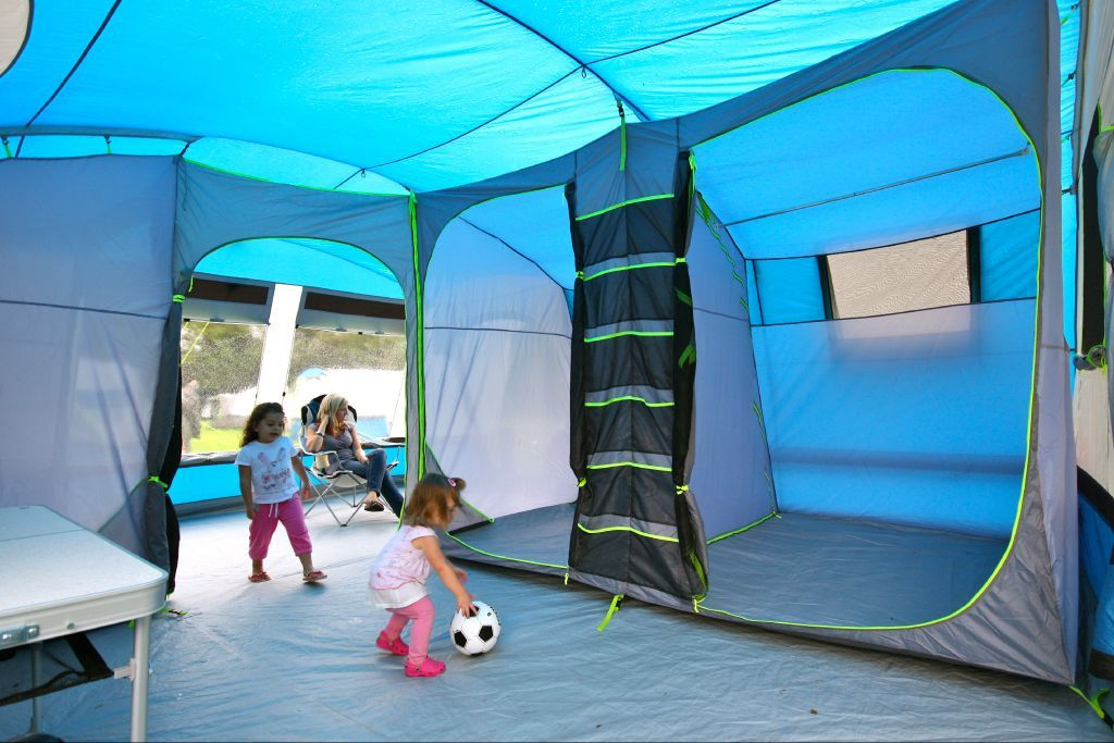 SUNNCAMP PITCHMASTER 600 - Is this the first family tent with 2 ...