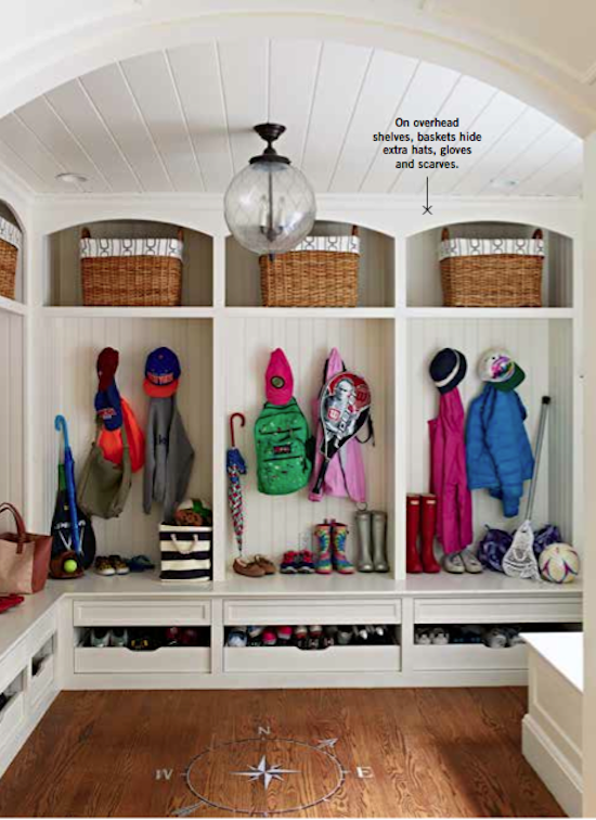 We Re In Family Circle Magazine Storage House Mudroom Design Functional Mudroom