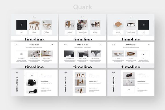 quark keynote presentation template