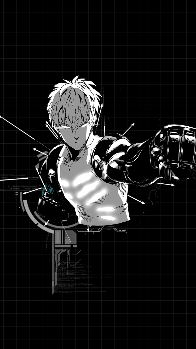 Shuuzous One Punch Man Wallpapers For Feel Free To Use These Wallpapers