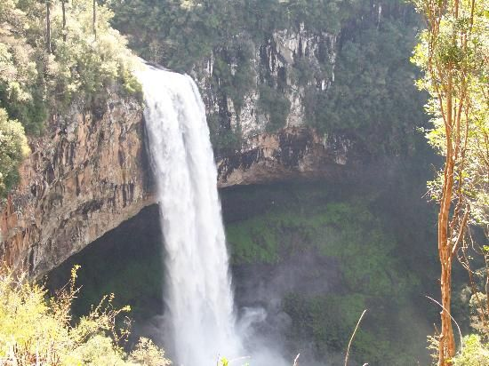 Brasil: Caracol waterfall