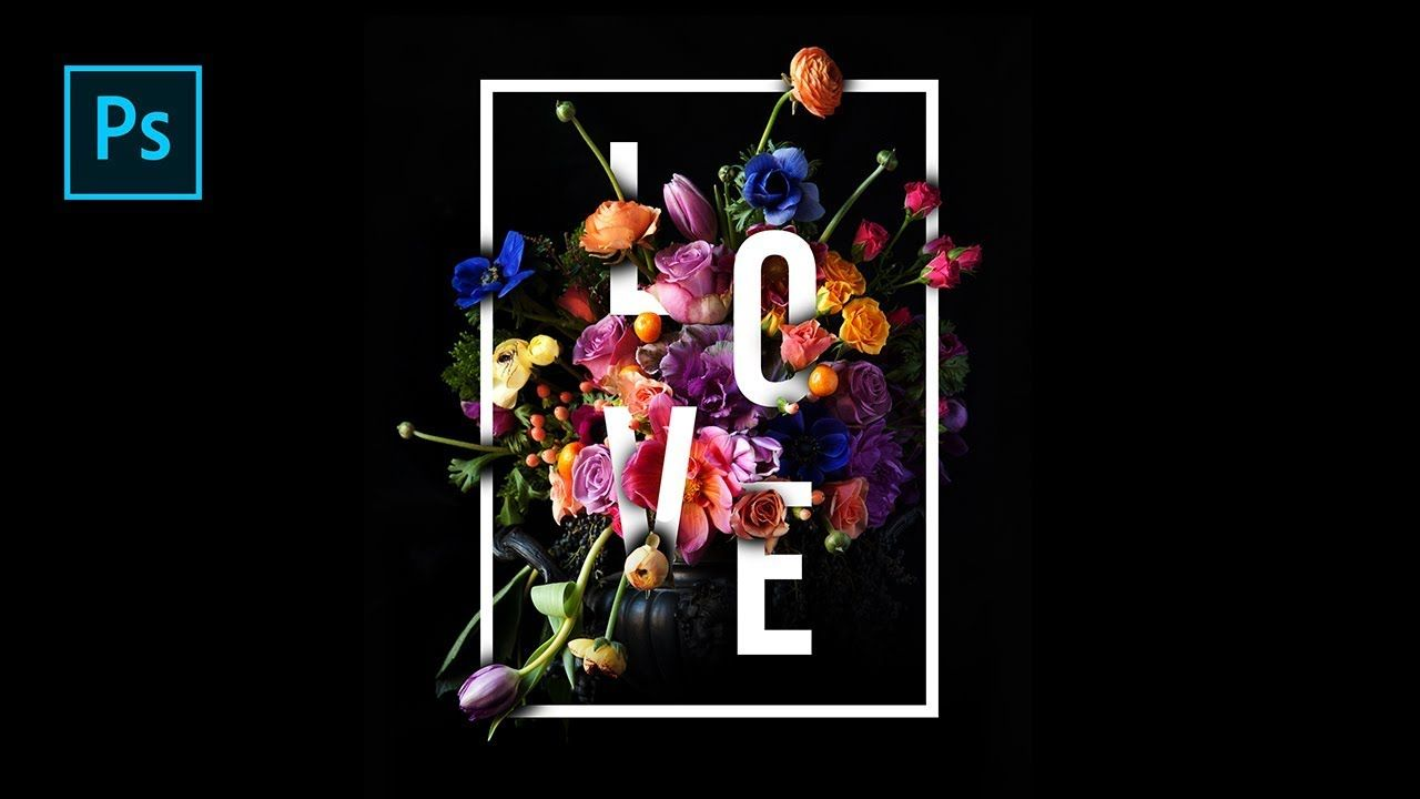 How to create beautiful floral typography design in photoshop how to create beautiful floral typography design in photoshop photosho baditri Choice Image
