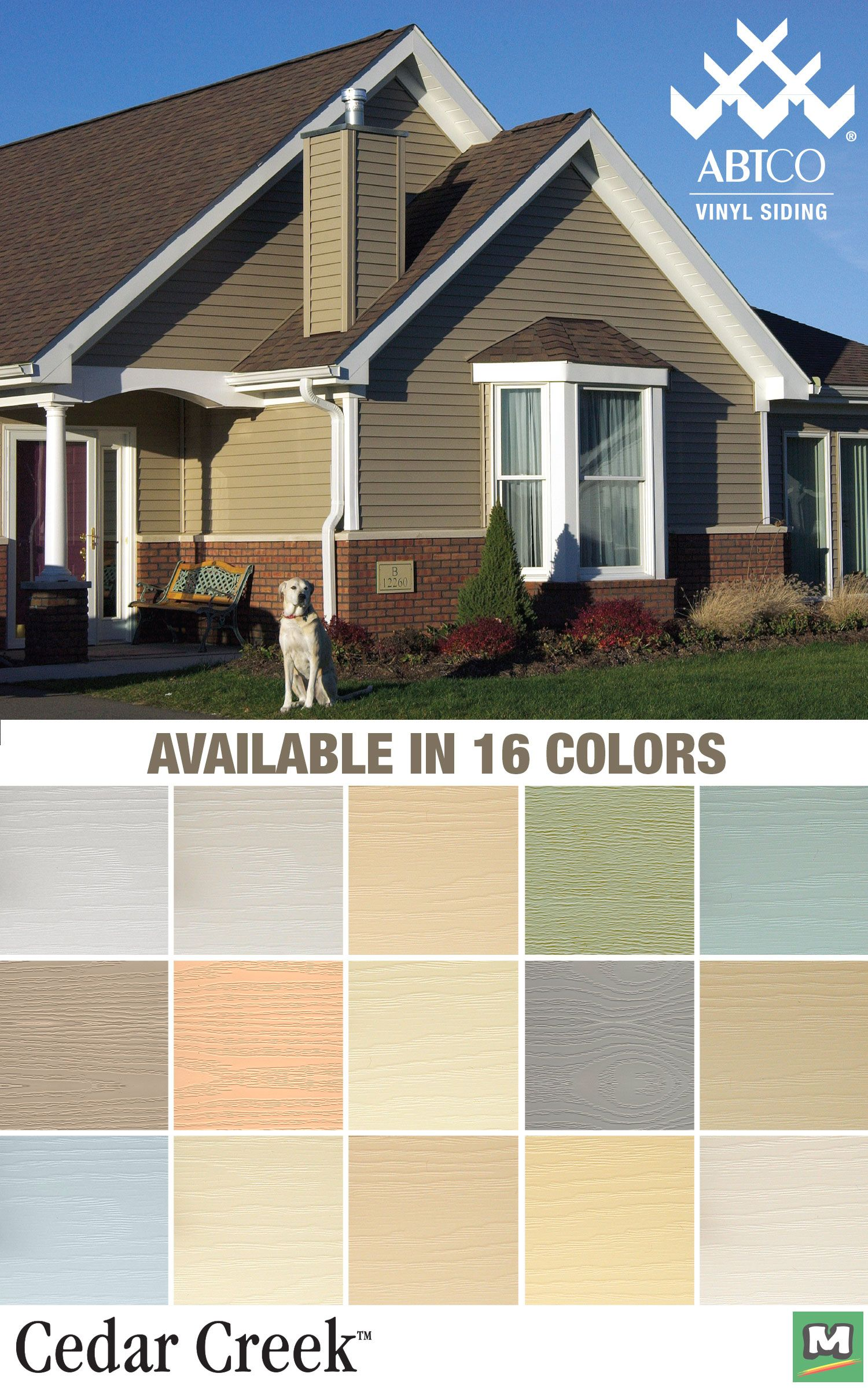 Up Your Curb Appeal And Add Value To Your Home With Cedar Creek Vinyl Siding It S Textured With A Weathered Woodgrain Vinyl Siding Updating House Curb Appeal