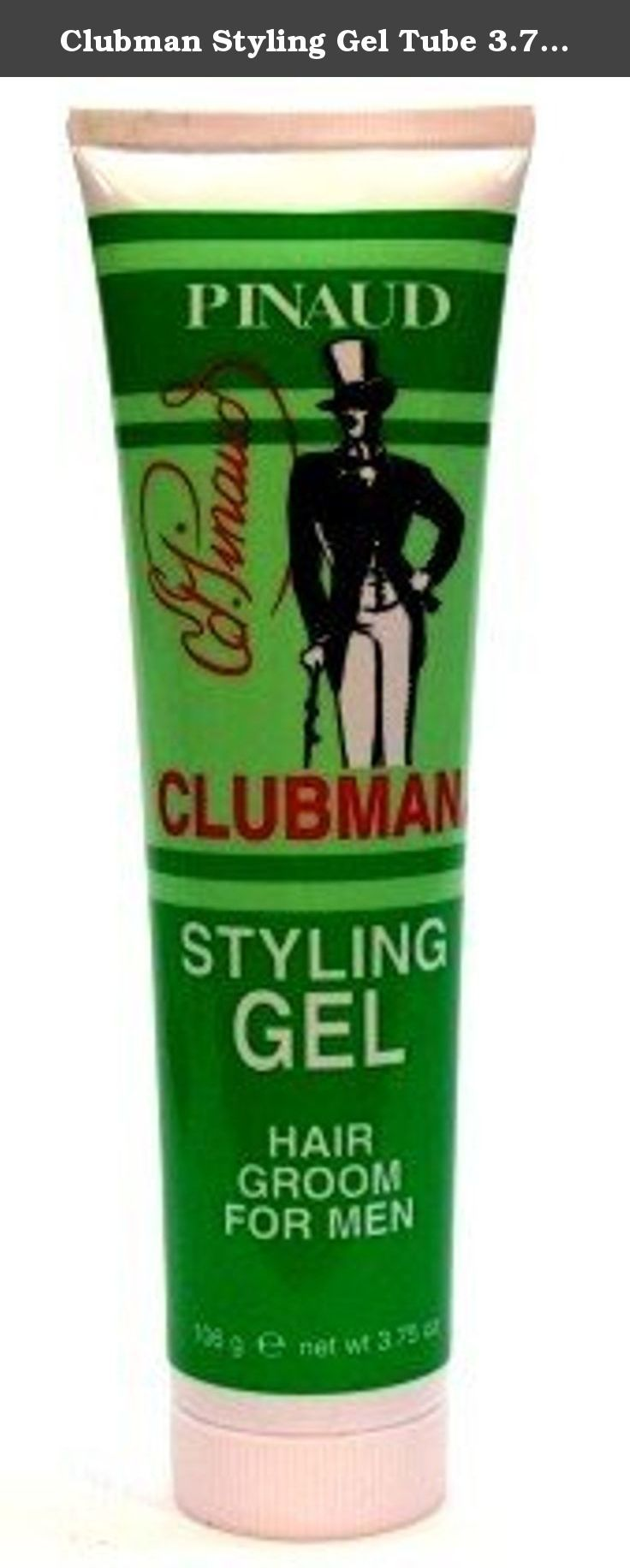 Clubman Styling Gel Tube 3.75 oz. (Case of 6). CLUBMAN'S