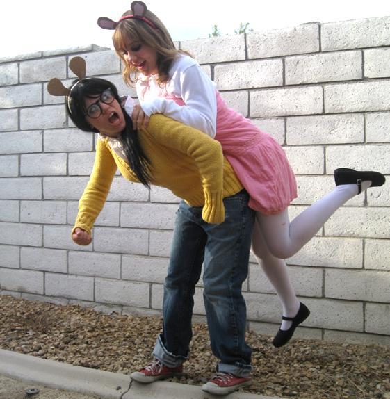 Arthur & D.W. Read Halloween costumes