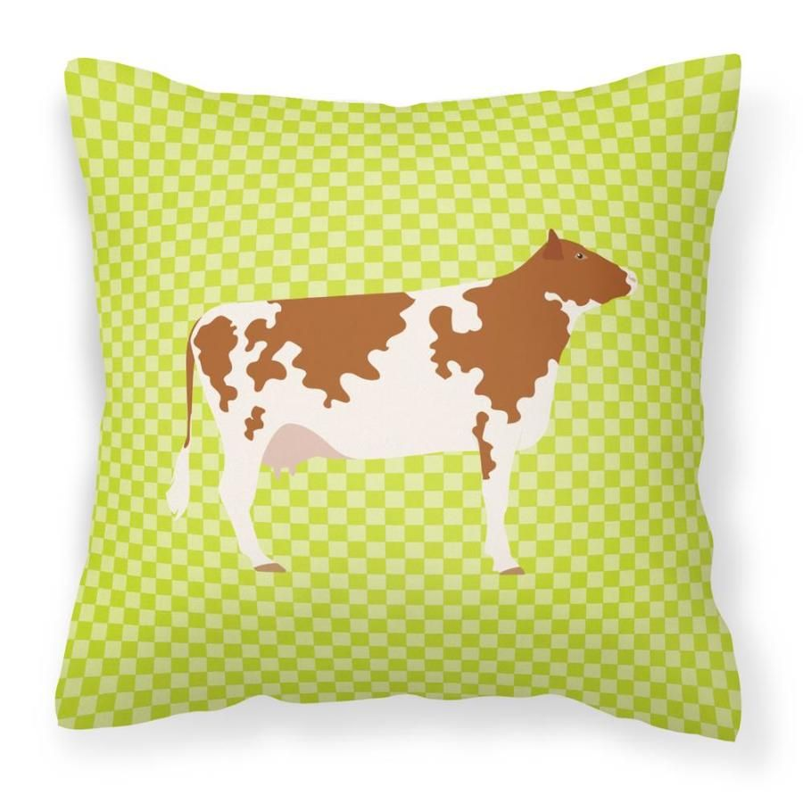 Caroline's Treasures Graphic Print Square Animals Throw Pillow Polyester | BB7653PW1414
