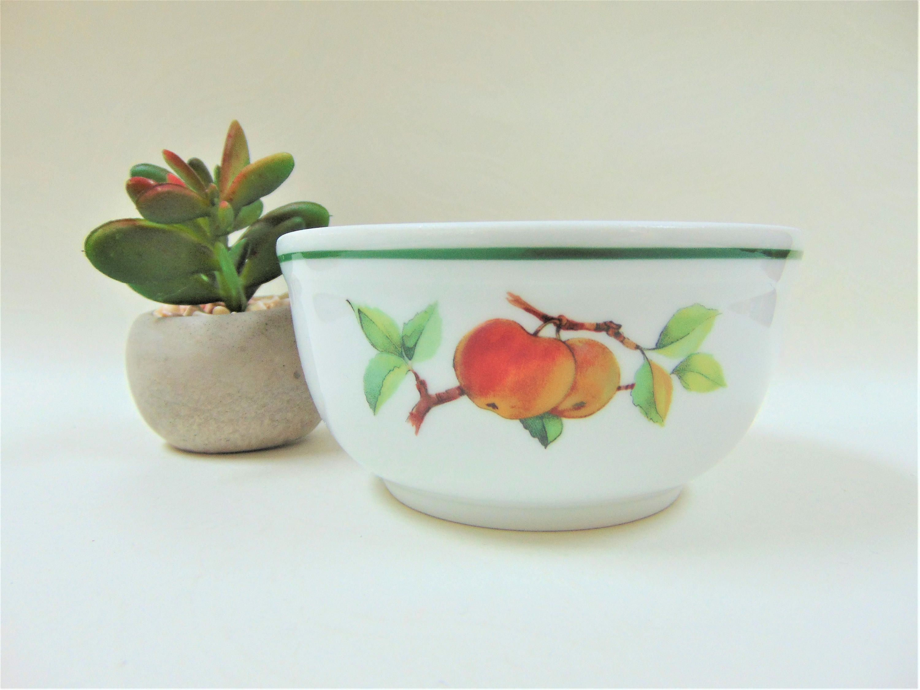 Royal Worcester Evesham Vale Small Pudding Bowl Vintage Quality Porcelain  Oven To Table Ware