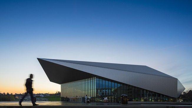 Richter dahl rocha associés swisstech convention center 2014
