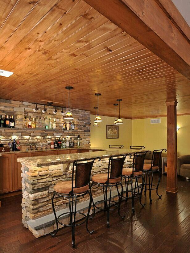 basement bar stone. The Stone By The Bar Stools Is What I Would Love To Have In Basement  Kitchen! P