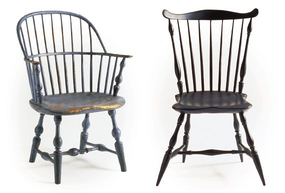 A Guide to Eighteenth-Century Windsor Chairs by user from Antiques . - A Guide To Eighteenth-Century Windsor Chairs By User From Antiques