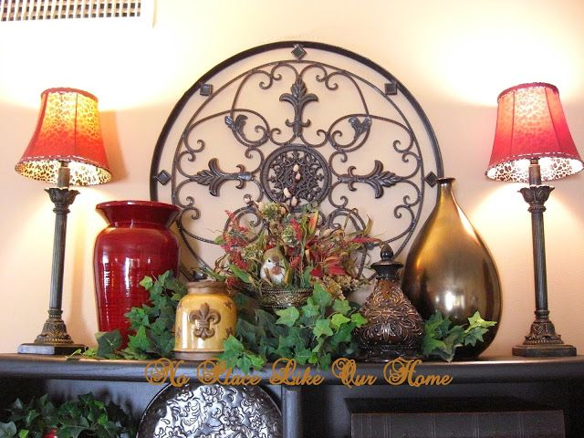 Cute For Top Of An Entertainment Center Or Hutch Tuscan Bedroom DecorEntertainment DecorDining Room