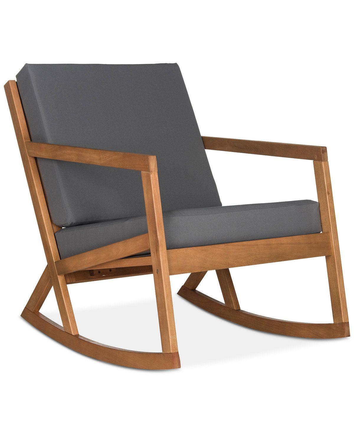 Enjoyable Nicksen Outdoor Rocking Chair Quick Ship Wishlist Short Links Chair Design For Home Short Linksinfo