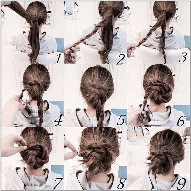 Twist Bun With Images Hair Arrange Natural Hair Bun Styles