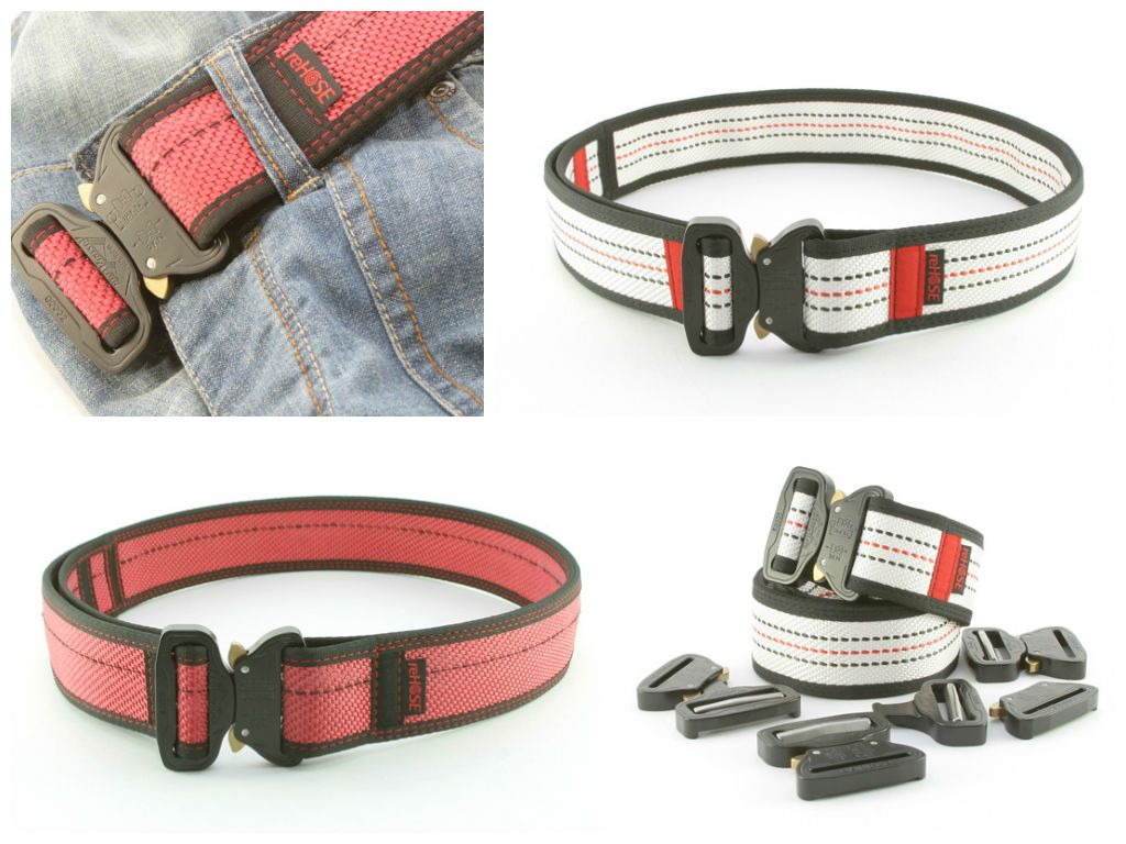 Hero Cobra Belt from Recycled Fire Hose | Fire hose ...