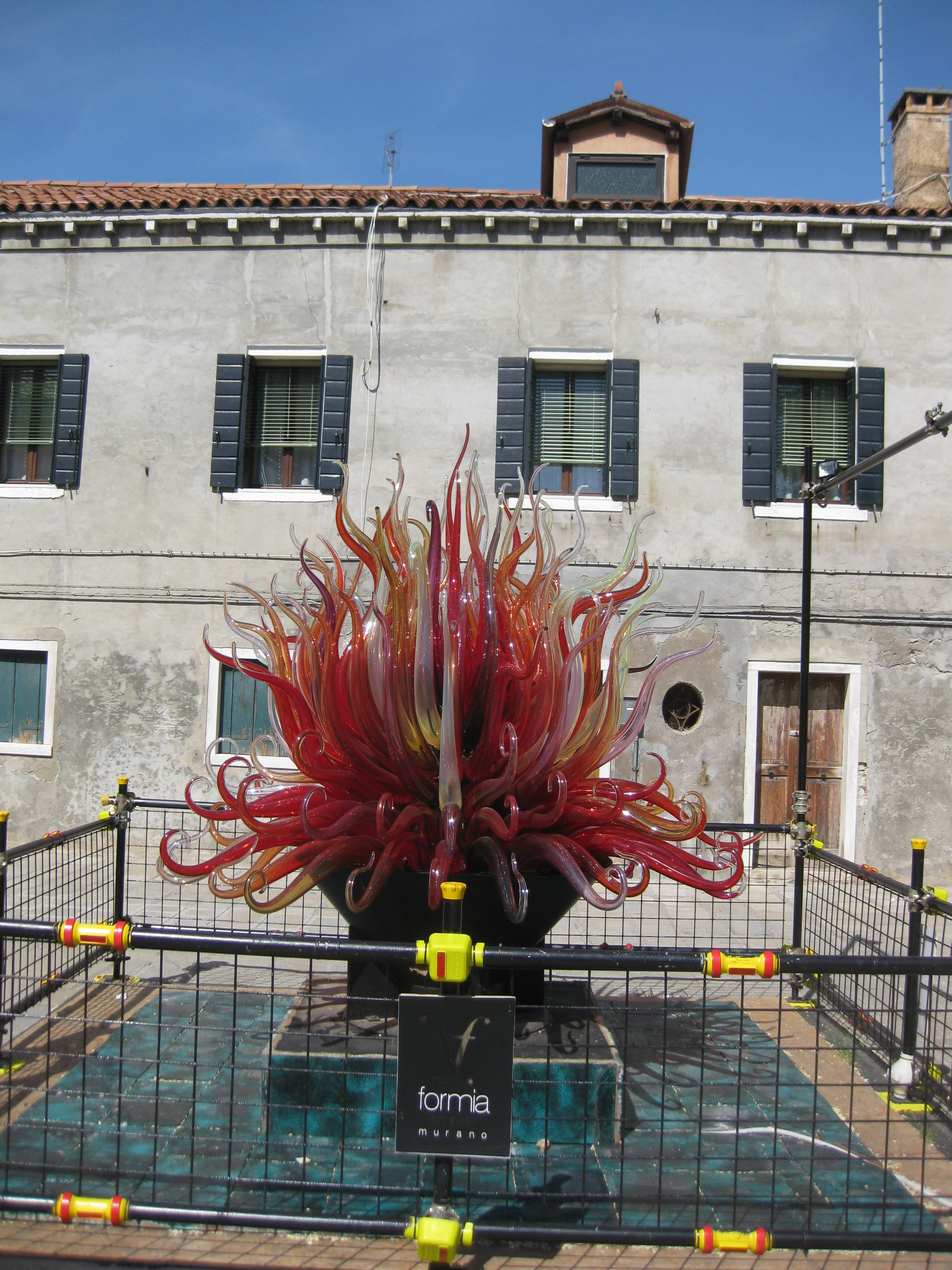 Murano , Venezia : Monumento in Vetro