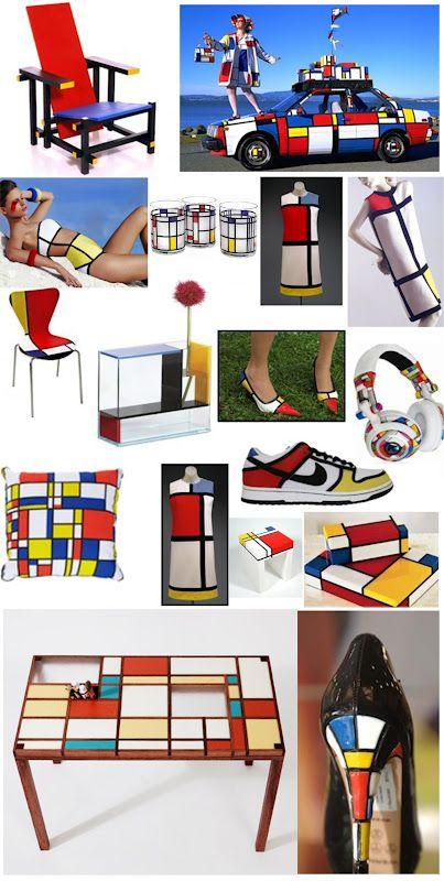 Moda Mondrian, Yves Saint Laurent e o símbolo de dois gênios.   Literatortura