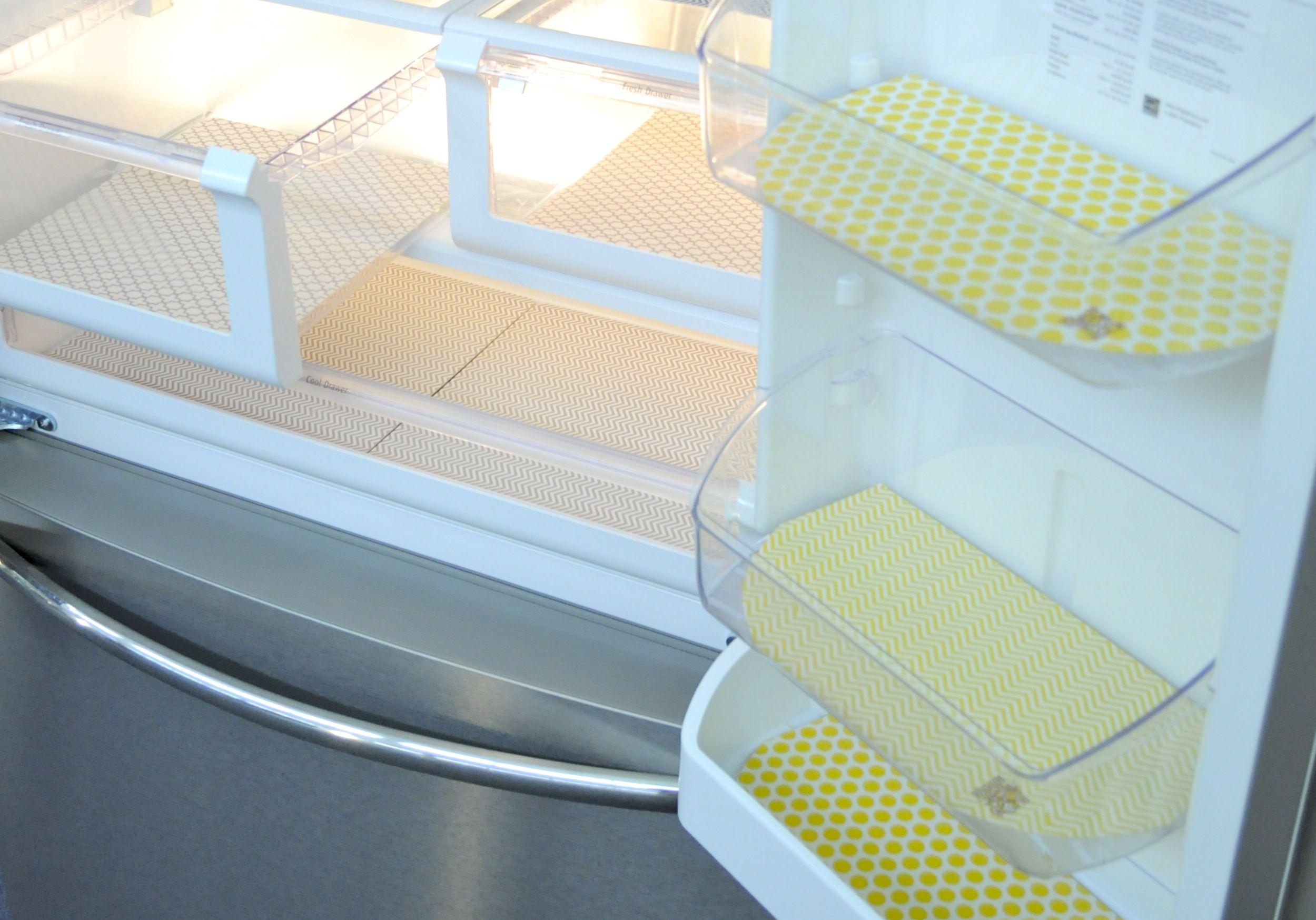 fun Fridge Coasters to keep my new fridge clean. | Inside the fridge ...