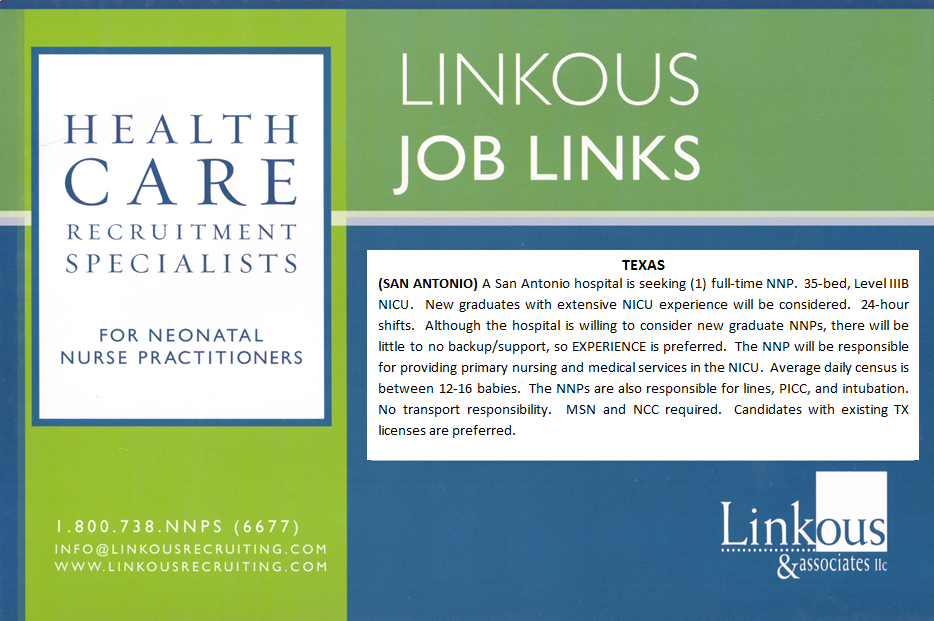 Browse Linkous Jobs Neonatal nurse practitioner, Care
