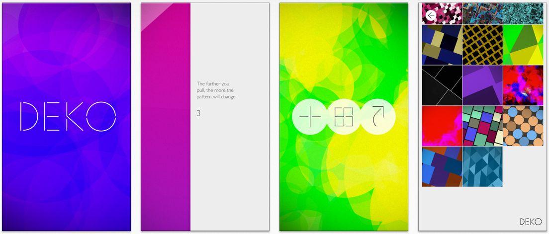 Deko Shopping Gadgets Deko Abstract Pattern Art