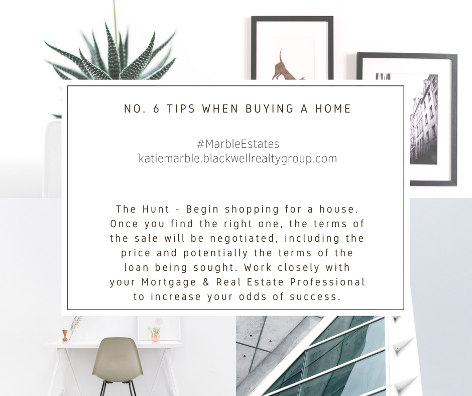 No. 6 Tips When Buying a Home || Kate Marble || Realtor ...