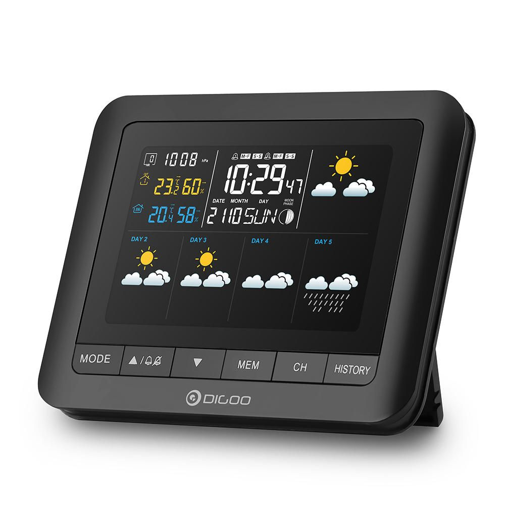 US$28.99 Digoo DG-TH8805 Wireless Five Day Forcast Version
