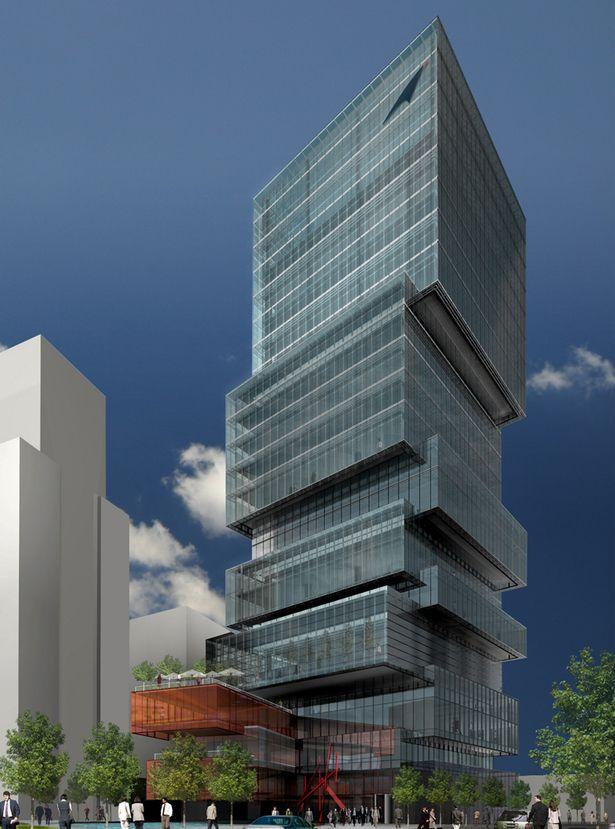 EDIFICIO INSTITUCIONAL DE CORREOS- POST OFFICE TOWER- Competition Finalist | ZERAFA ARCHITECTURE STUDIO | Archinect