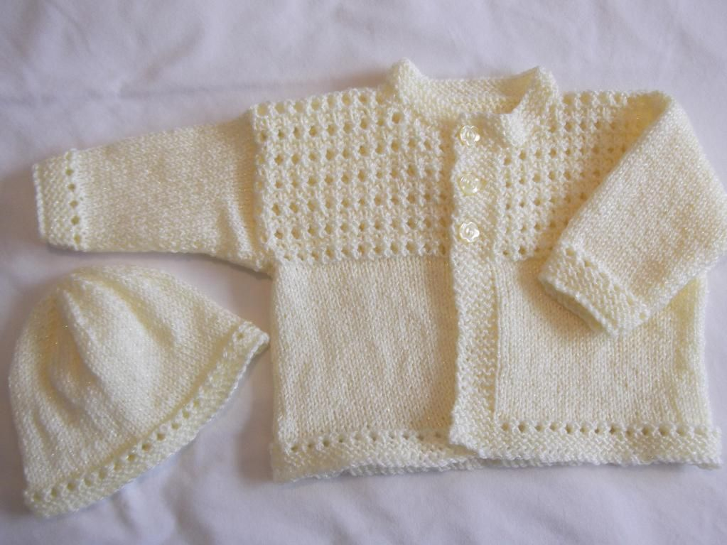 Newborn Baby Cardigan Free Knitting Pattern Choice Image ...