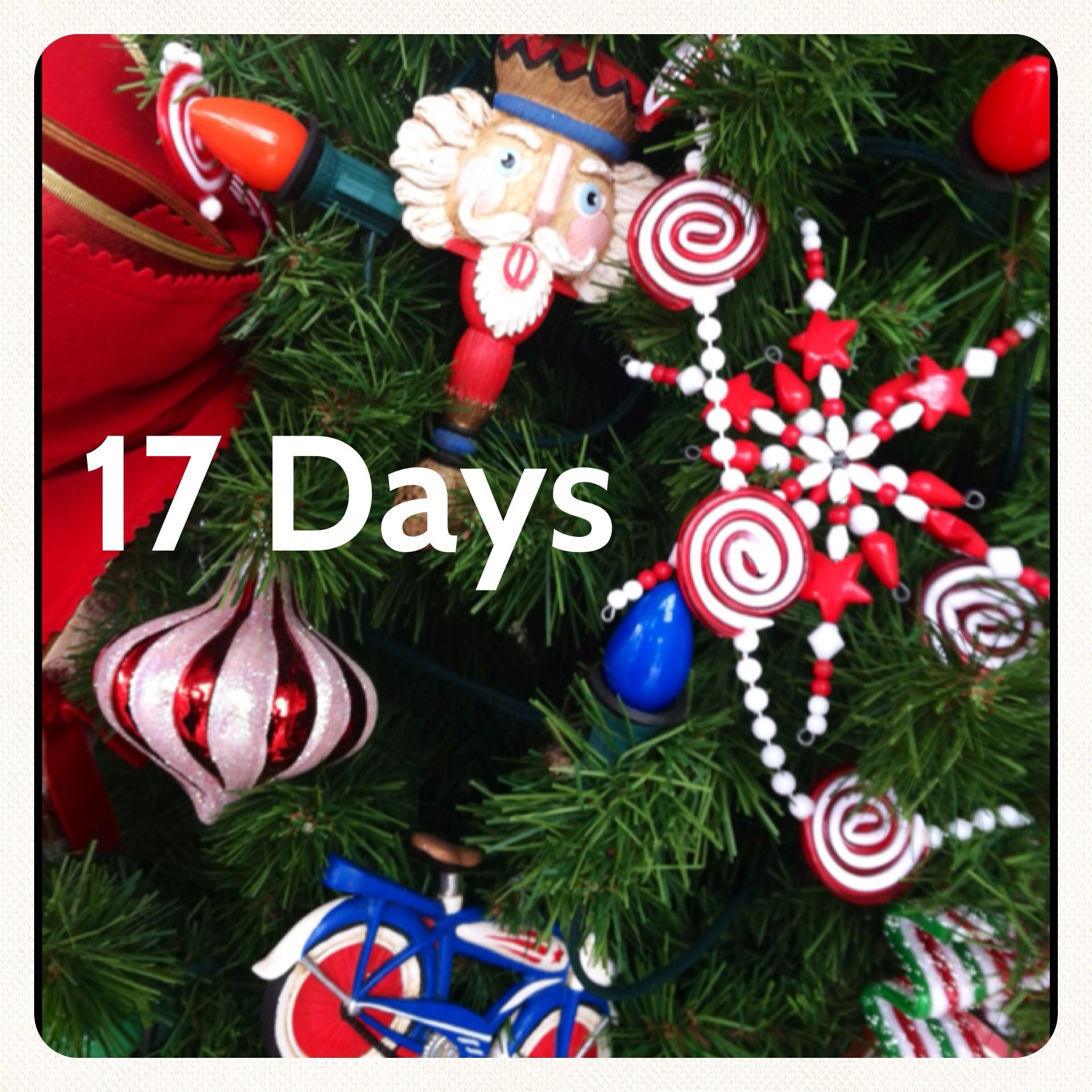 17 Days Until Christmas Christmas countdown, Christmas