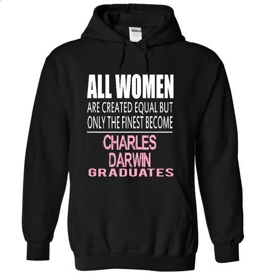 I Graduated AT CHARLES DARWIN - #shirt pattern #pink tee. PURCHASE NOW => https://www.sunfrog.com/Funny/I-Graduated-AT-CHARLES-DARWIN-7101-Black-4335966-Hoodie.html?68278