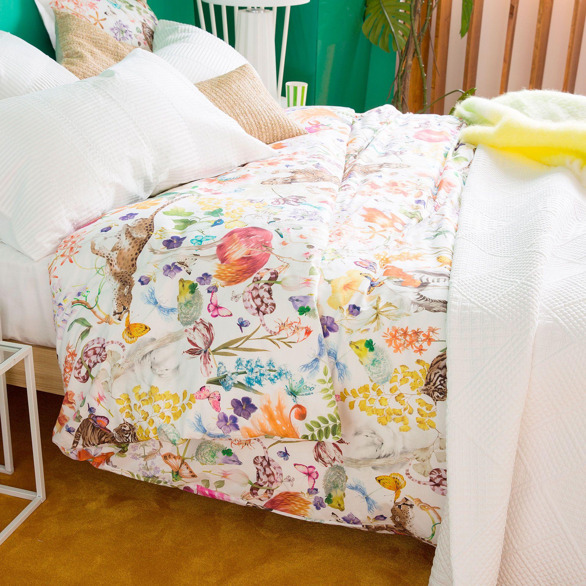Floral Print Bed Linen Bed Linen Bedroom Zara Home