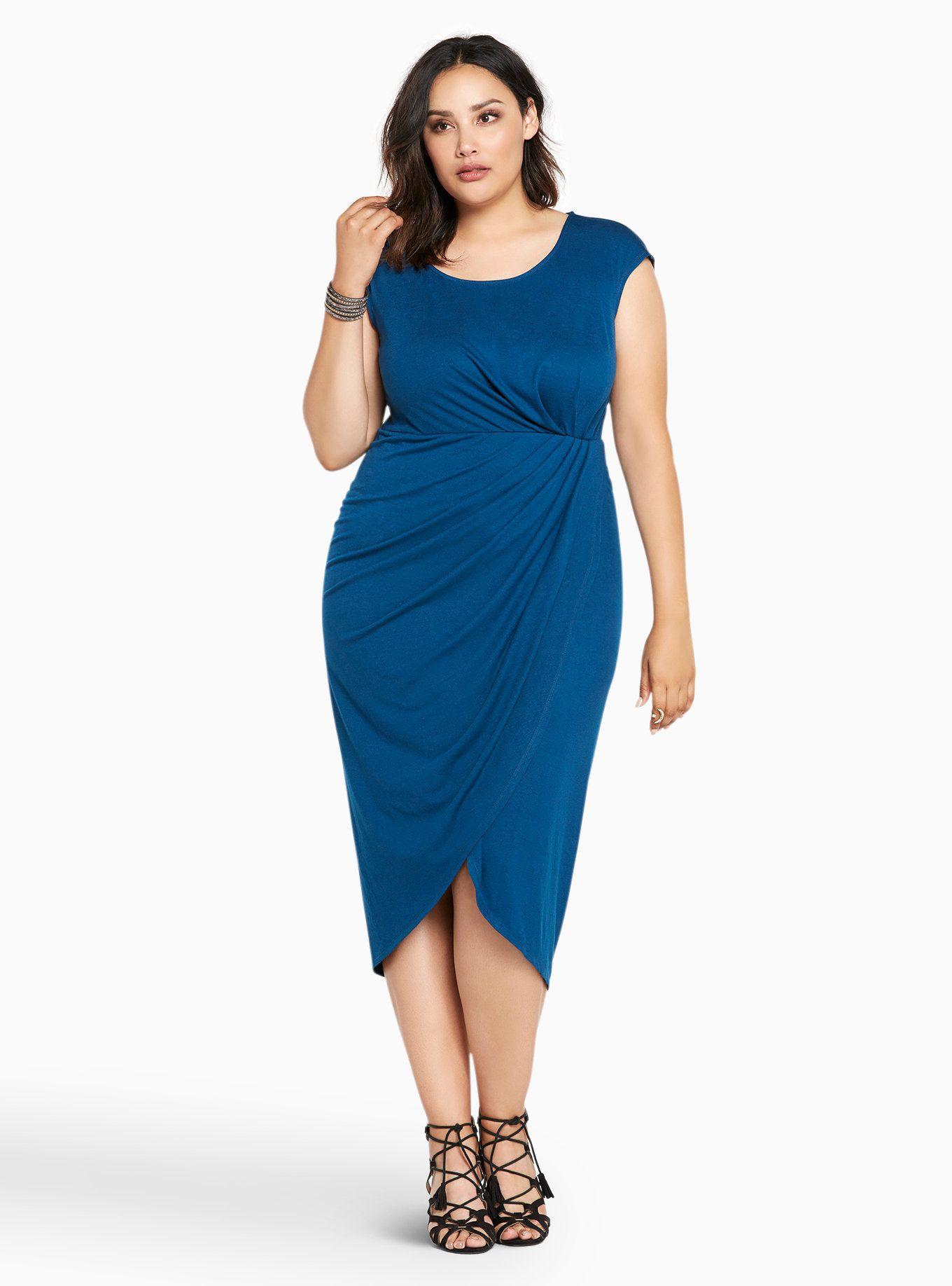 Tulip Jersey Midi Dress  9543f83c9