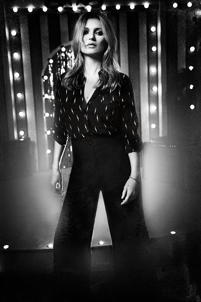 Just landed: Kate Moss x Equipment clothing line arrives at Net-a-Porter