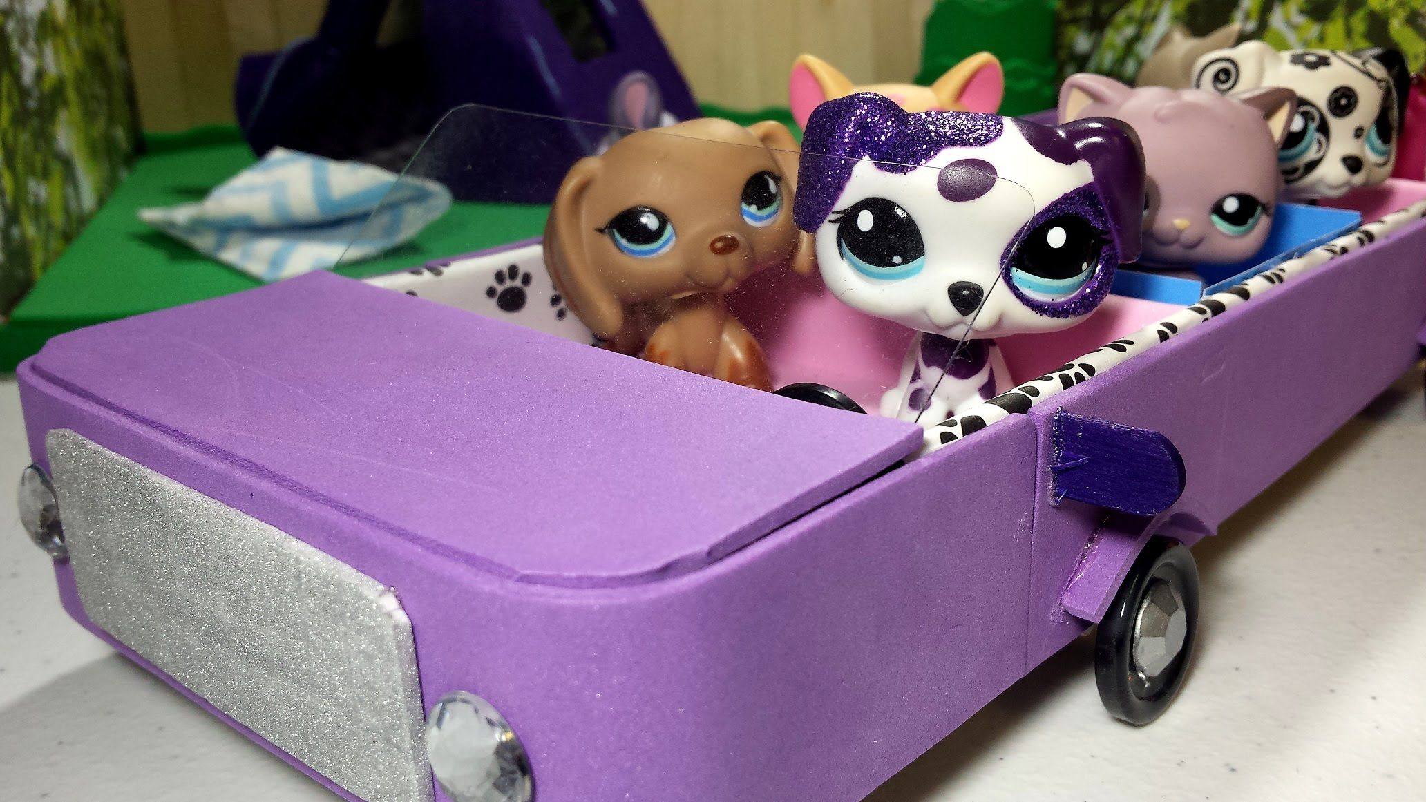 How to Make an LPS Car - Limo: Doll DIY