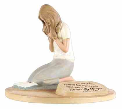 Devoted Sculpture: Praying Woman I Call on You, My God