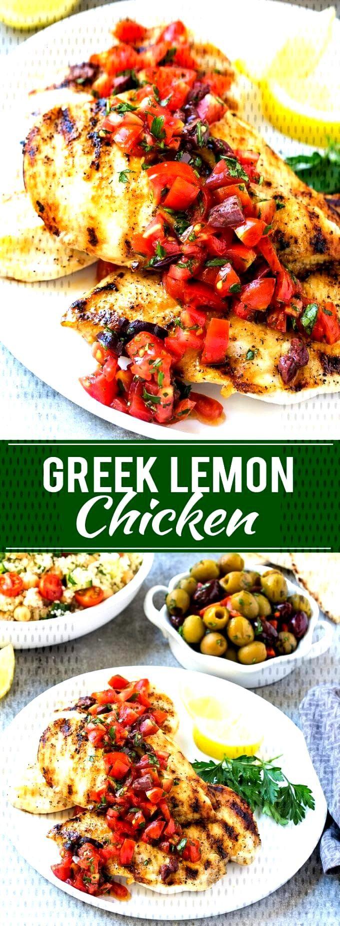 Greek Lemon Chicken Recipe | Greek Chicken | Grilled Chicken | Lemon Chicken