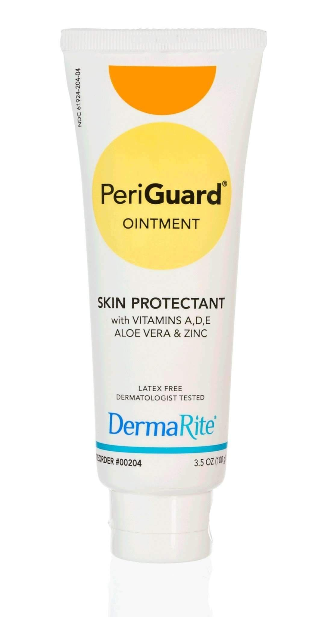 Aloe Vera Yogurt Tattoo Removal: DermaRite 00204 Periguard Skin Protectant 3.5 OZ. TUBE