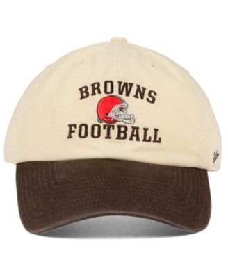 42cae32a7cca6 47 Brand Cleveland Browns Steady Two-Tone Clean Up Cap - White ...
