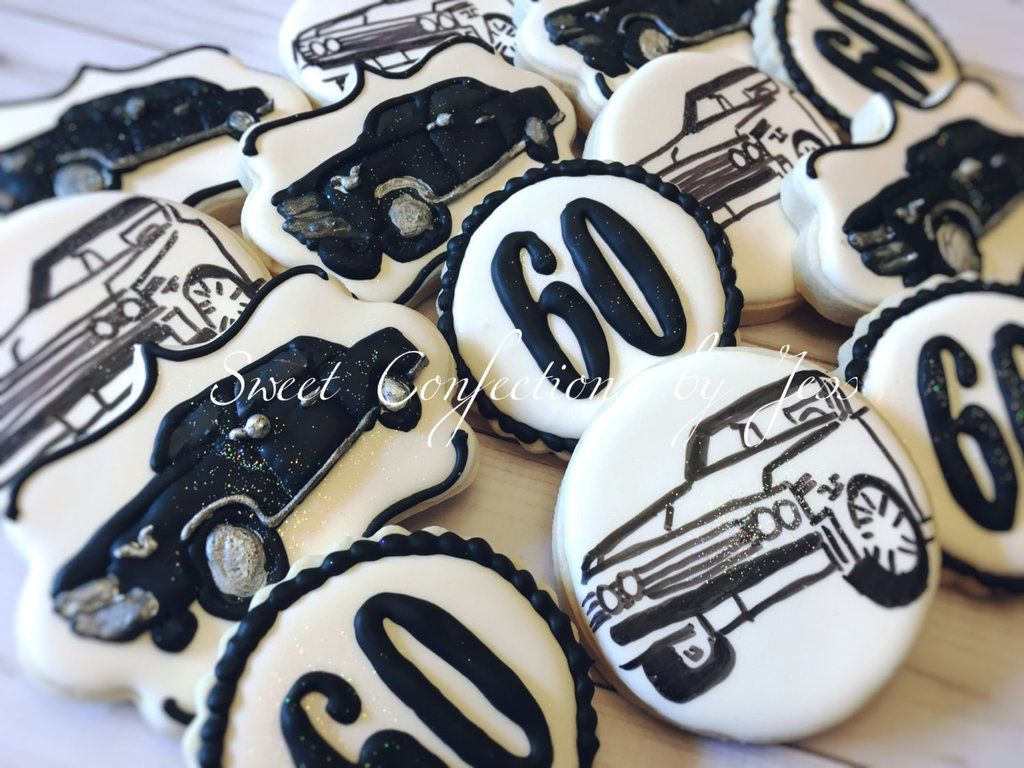 1967 Chevrolet Chevelle Birthday Party Cookies-Chevy Cookies-Classic Car Party