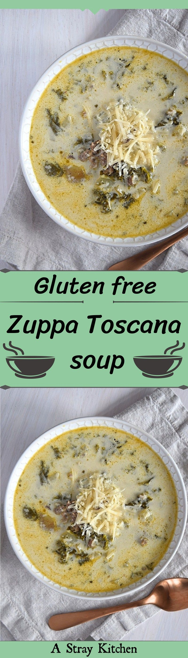 Zuppa Toscana Soup #zuppatoscanasoup