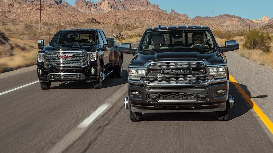 2020 Gmc Sierra 3500hd Denali Duramax Vs 2019 Ram 3500 Limited