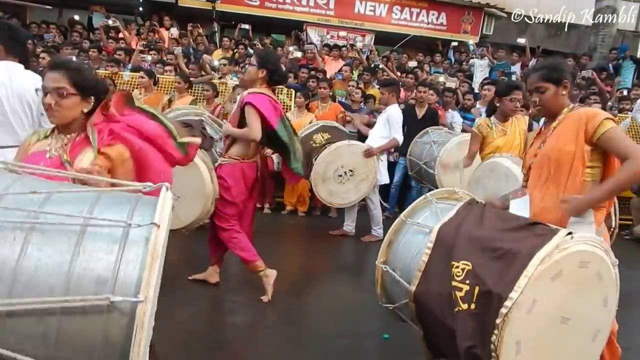 Chintamani patpujan 2016 salami dhol tasha pathak