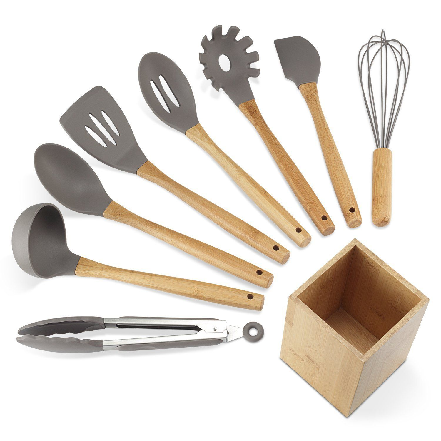 Top 10 Best Silicone Utensil Set Reviews In 2018