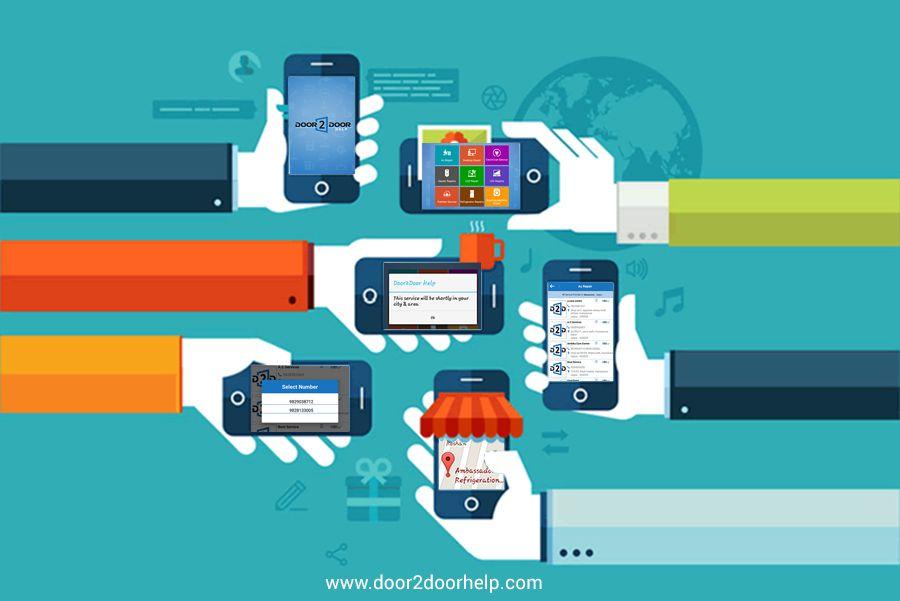 Pin by Door2Door on mobile app Beacon technology, Mobile