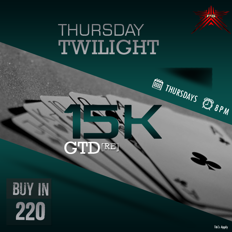 Participate in our thursday tournament and grab your share