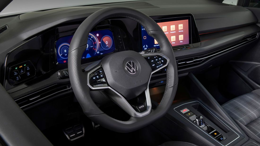 Vw Golf Gtd 2020 Langstrecken Sportler Ab 38 114 Euro Golf Gti Volkswagen Golf Gti Volkswagen Golf