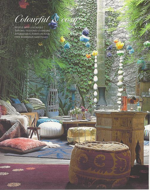 I definitely want to mix some Moroccan and/or Balinese Elements into my Southwestern Garden
